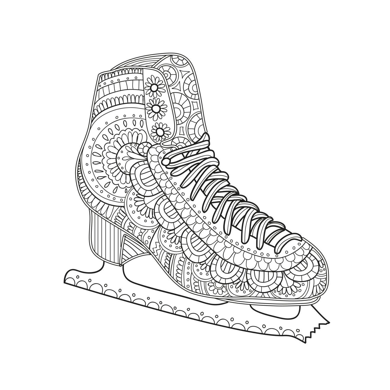 coloring pages skating - photo#31
