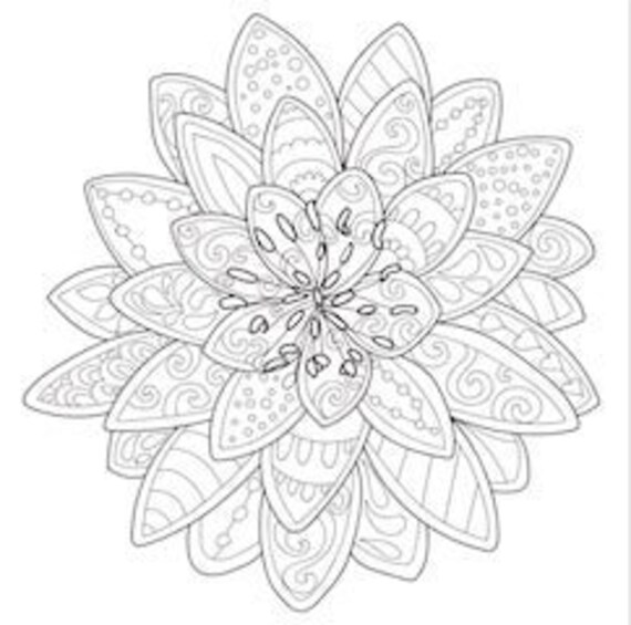 3 Printable Coloring Pages Zentangle Coloring Book