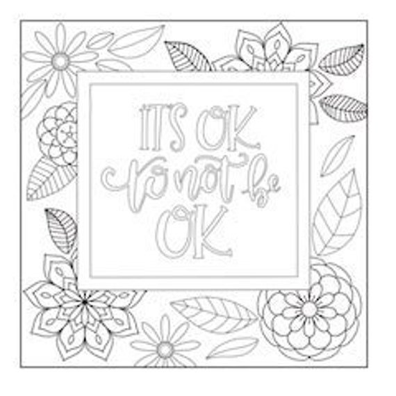 5 Motivational Printable Coloring Pages Zentangle Coloring Book