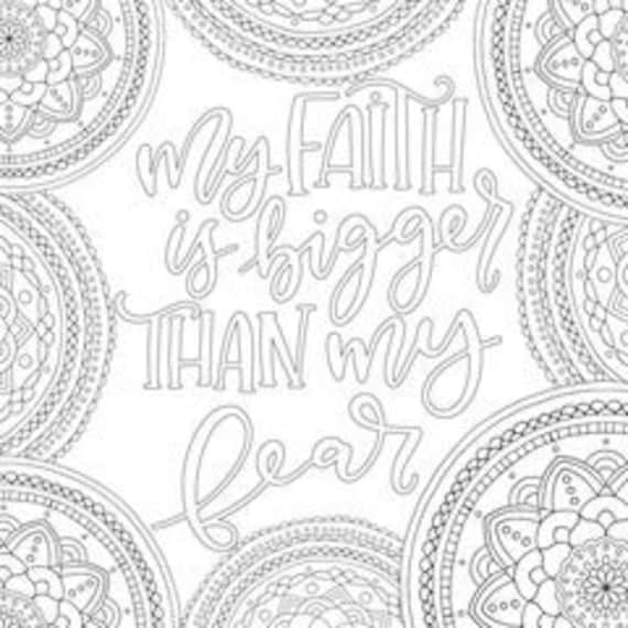 3 Motivational Printable Coloring Pages Zentangle Coloring Etsy