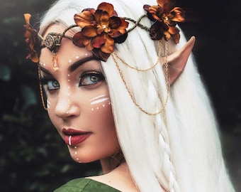 elven cosplay - Woodland Elven Crown