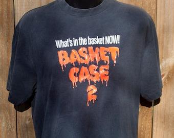 1990 Basket Case 2 shirt - Vintage horror movie tshirt - B-horror sequel t-shirt