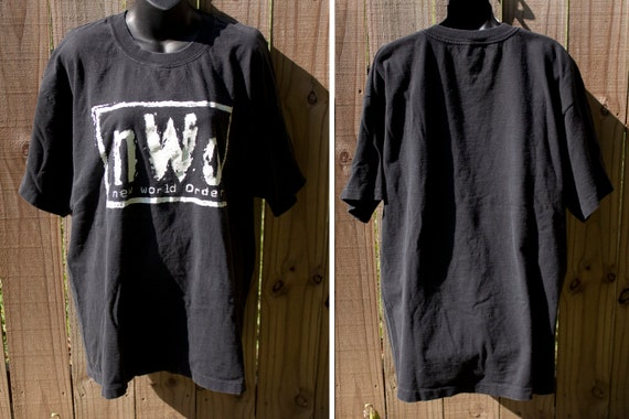 90s NWO Wrestling shirt - True Vintage Post WCW ts