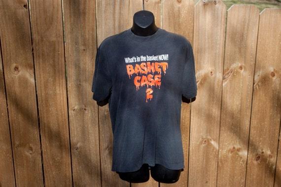 1990 Basket Case 2 shirt - Vintage horror movie ts