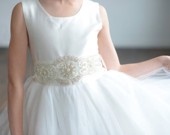 6525eb7a619 Bespoke Flower Girl Dresses   First Communion Dresses by gillygray