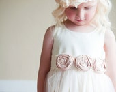 The Victoria Flower Girl Dress