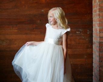 The Dovecote Flower Girl Dress