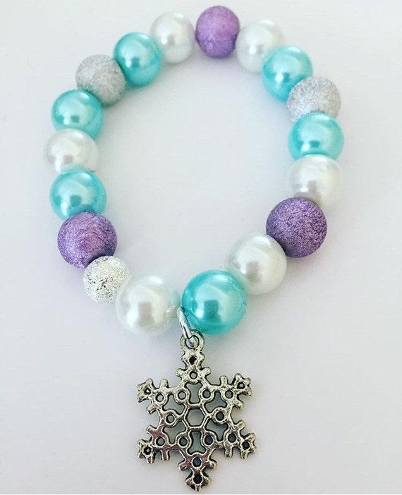 Kids frozen bracelet/Elsa/kids bracelets/girls bracelets/name   Etsy
