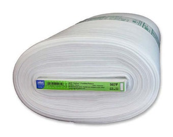 """Pellon Fusible Fleece 987F 45 """" wide Sold by the Yard"""