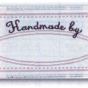 Made with Love For Pink Sewing Labels  Quilting Labels BL-LL2586