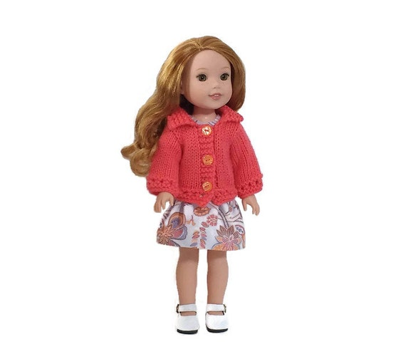 """Three sweaters for Ameican Girl Wellie Wishers 14.5/"""" Doll Clothes"""