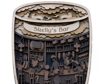 Pub in a Pint - with custom text