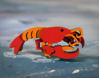 Lobster Brooch - Ocean Collection