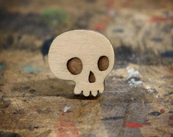Mini Skull Brooch - Skelly Collection