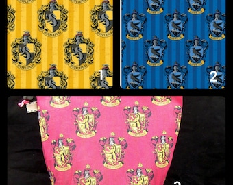 Harry Potter houses project bags