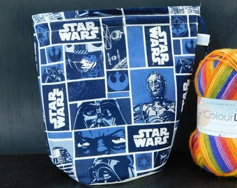 Star Wars project bag for knitting/crochet/crafts