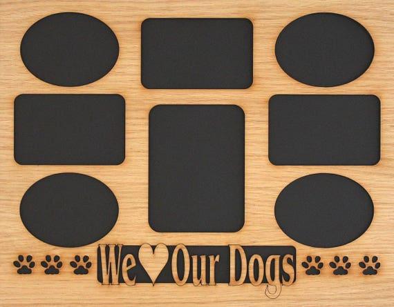 11x14 Dog Picture Frame Collage Mat Insert For Frame Dog Etsy