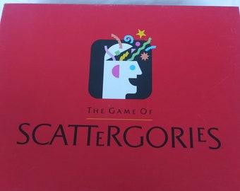 Vintage Scattergories Etsy