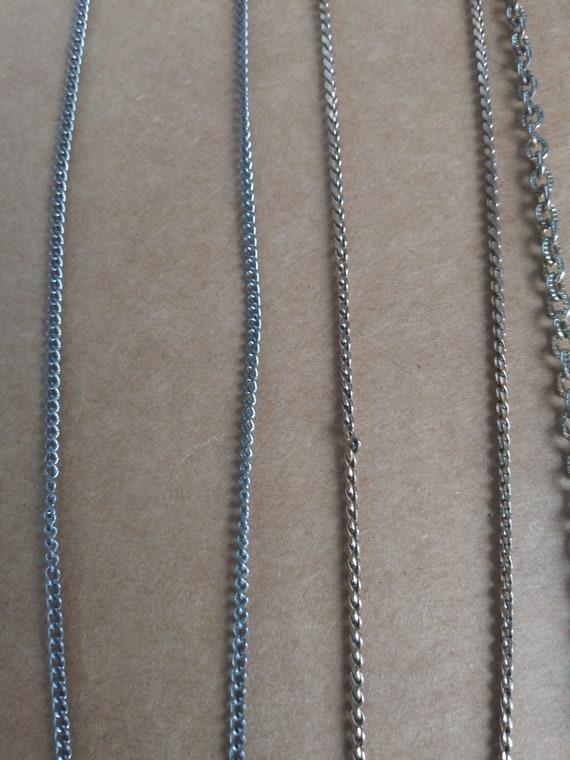 Vintage Costume Jewelry Lot 6 Necklaces 4 Bracelet - image 8
