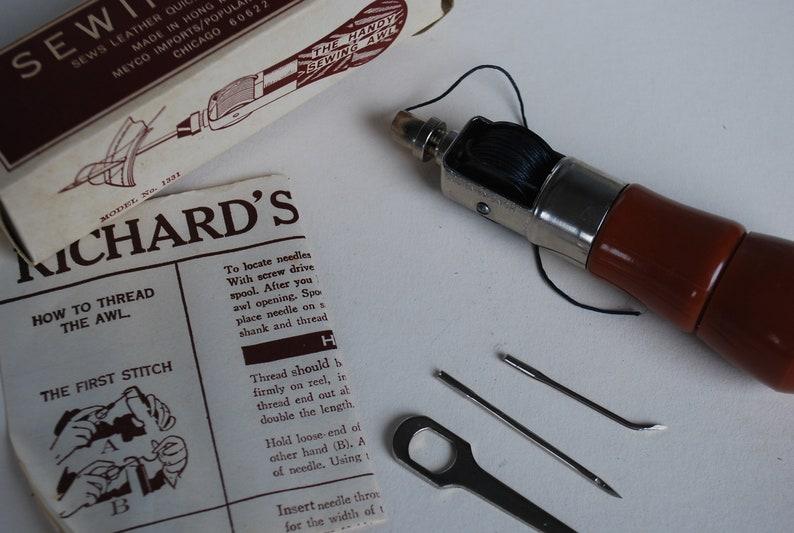 Richard's Famous Lock Stitch Sewing Awl 1968 British Hong Kong