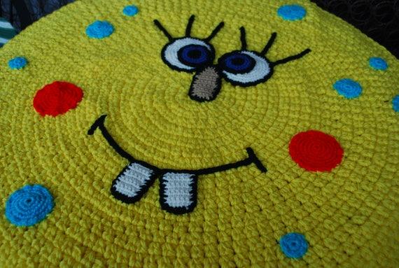 SpongeBob handmade circle rug