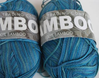 2 skeins South West Trading Company Bamboo