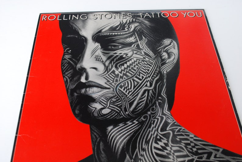 The Rolling Stones Tattoo You Vintage Vinyl Lp Record Album 1981