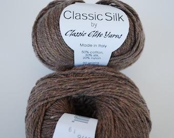 2 skeins Classic Silk Yarn.