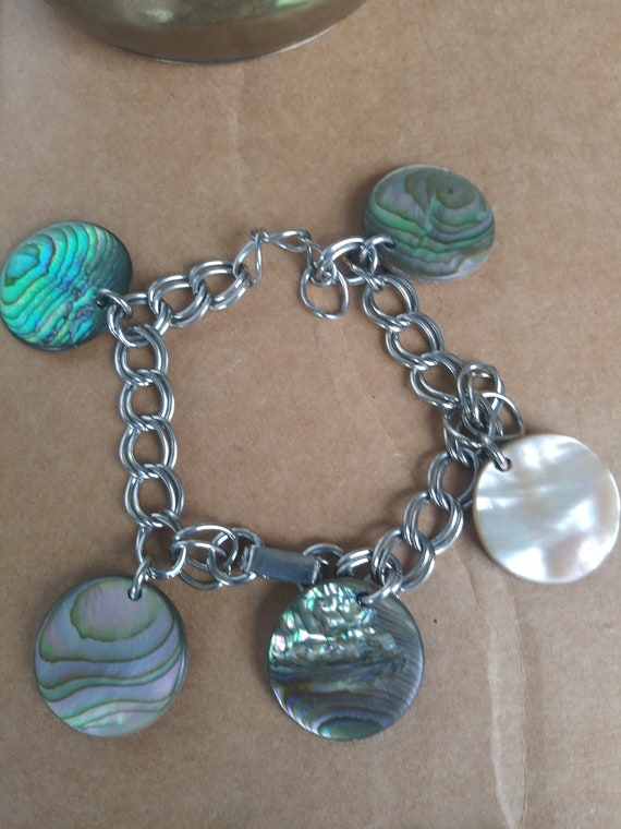Vintage Costume Jewelry Lot 6 Necklaces 4 Bracelet - image 4