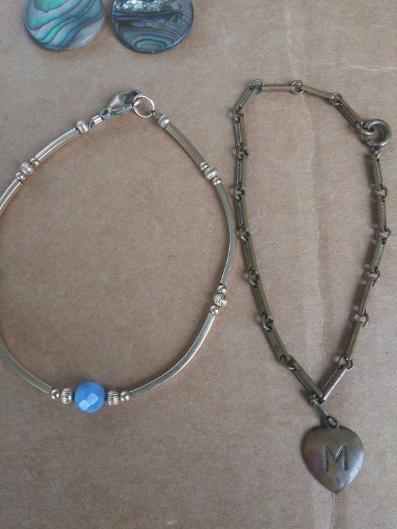 Vintage Costume Jewelry Lot 6 Necklaces 4 Bracelet - image 3