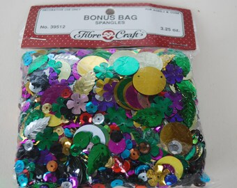 Bag Spangles 3.25 oz. Fibre Craft