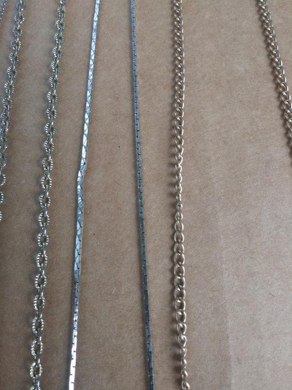 Vintage Costume Jewelry Lot 6 Necklaces 4 Bracelet - image 7