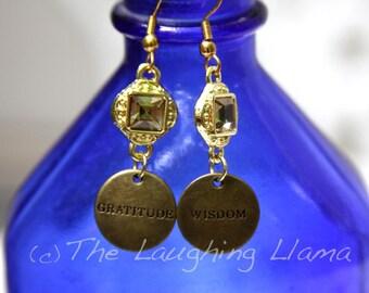 Gold Earrings, Dangle Earrings, Boho Earrings