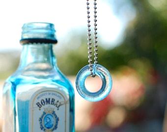 Mini Bombay Gin Bottle Necklace | Throat Chakra