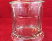 Antique Glass Cigar Humidor Country Store Cigar Jar antique advertising