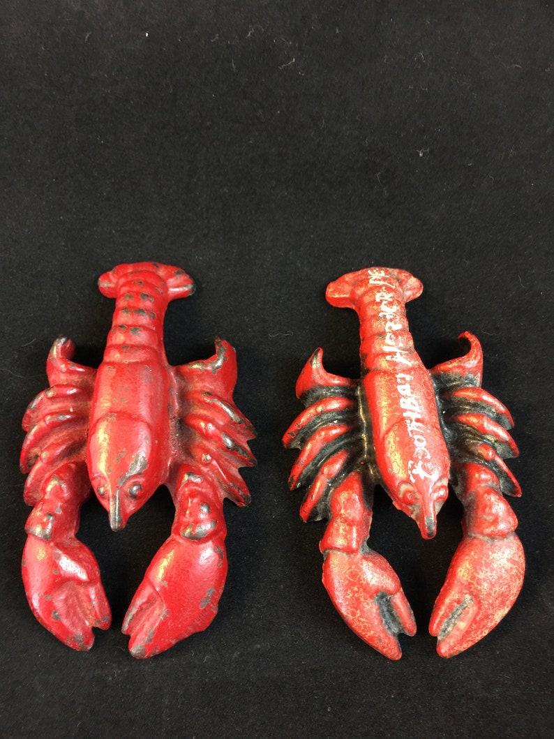 15/% Off Spring Sale Hubley Lobster Paperweight  Bottle Opener #480   souvenir figurine