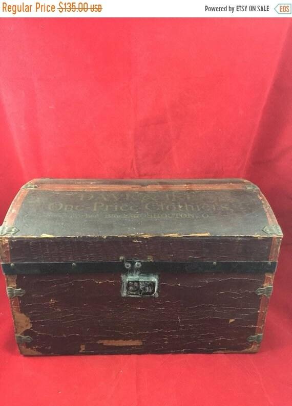 "CAST IRON 5/"" PADLOCK  Vintage Rustic Victorian Pirate treasure Chest trunk Door"