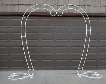 Heart Shape Wedding Arch