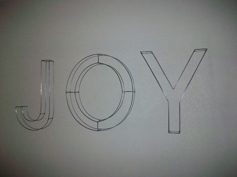Wire Letters Twenty Inch Tall image 0