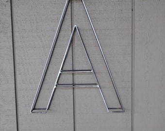 """Wire wall letter 12"""" tall"""