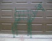 Deer Topiary  Sculpture Frame