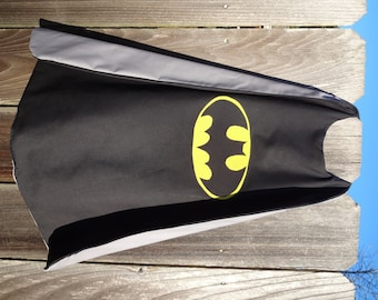 Batman Cape - Handmade and Reversible