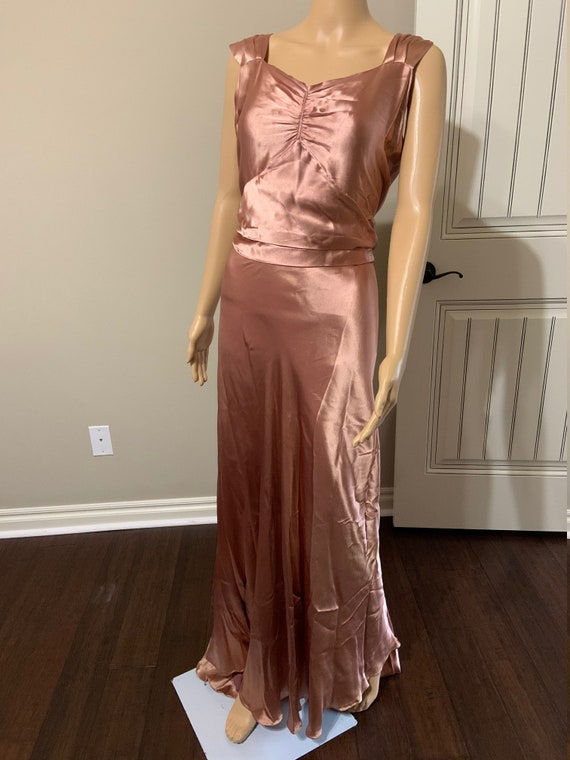 Luscious 1930s Art Deco Gown
