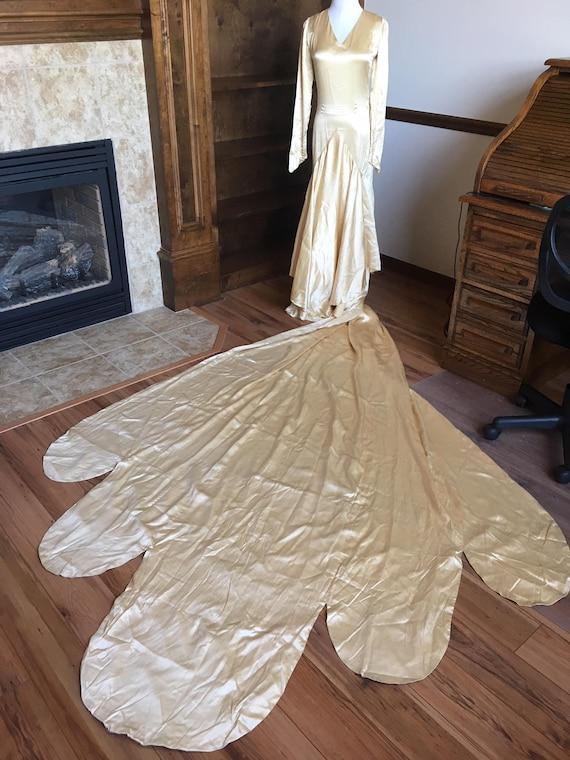 Couture Edwardian Era Wedding Gown