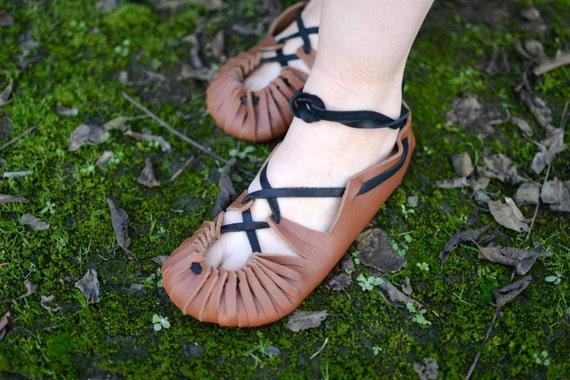 Bronze Age Handmade Leather Shoe