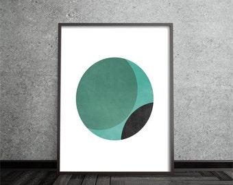 Geometric Print, Abstract, Art, Poster, Mid Century Modern, Minimalist, Modern, Contemporary