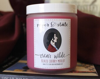 Oscar Wilde 8 oz Handcrafted Soy Candle