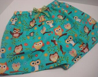 Cotton sleep shorts custom made for Kim