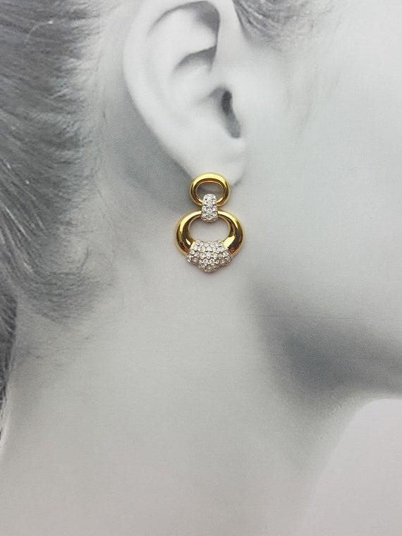 Swarovski Pierced Earrings #H750.69