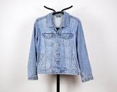 Vintage Blue Denim Jean Jacket